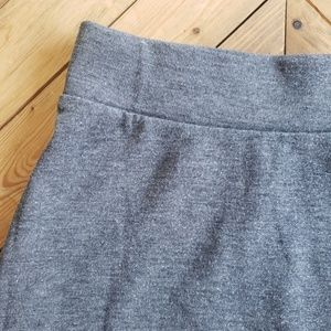 Skirts - LA Base | Grey Mid Thigh Skirt